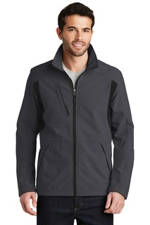 Port Authority® Back-Block Soft Shell Jacket.