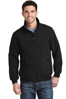 Port Authority® Soft Shell Bomber Jacket.-