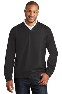 Port Authority® Zephyr V-Neck Pullover.-Port Authority