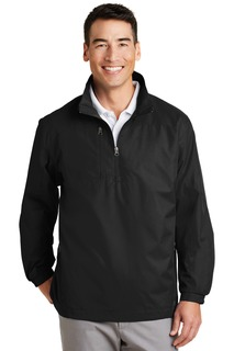 Port Authority® 1/2-Zip Wind Jacket.-Port Authority
