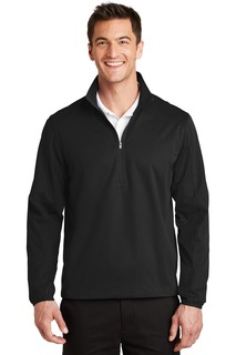 Port Authority® Active 1/2-Zip Soft Shell Jacket.-