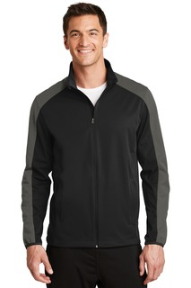 Port Authority® Active Colorblock Soft Shell Jacket.-Port Authority