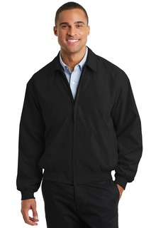 Port Authority Casual Microfiber Jacket.-