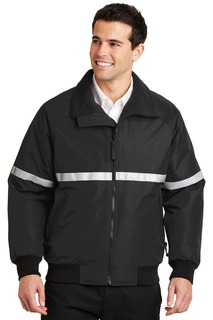 Port Authority Challenger Jacket with Reflective Taping.-