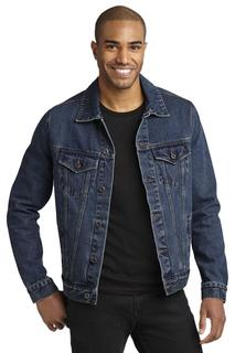 Port Authority Denim Jacket.-