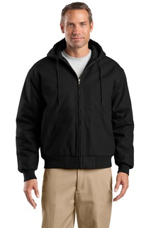 CornerStone® Tall Duck Cloth Hooded Work Jacket.-CornerStone