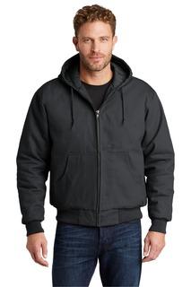 CornerStone® - Duck Cloth Hooded Work Jacket.-CornerStone