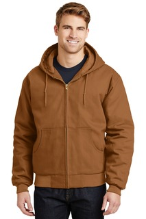 CornerStone - Duck Cloth Hooded Work Jacket.-CornerStone