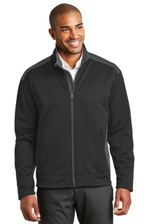 Port Authority® Two-Tone Soft Shell Jacket.-Port Authority