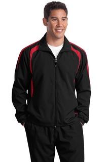 Sport-Tek® Tall Colorblock Raglan Jacket.