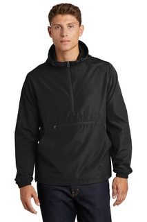 Sport-Tek Packable Anorak.-