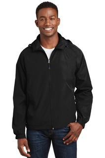 Sport-Tek Activewear Athletic/Warm-Ups Sport-Tek® Hooded Raglan Jacket.-Sport-Tek