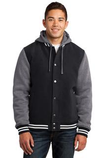 Sport-Tek® Insulated Letterman Jacket.-
