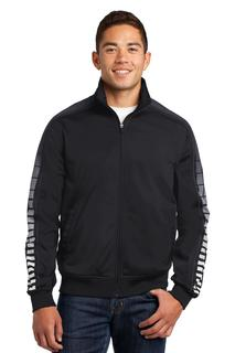 Sport-Tek® Dot Sublimation Tricot Track Jacket.