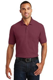 Port Authority® Core Classic Pique Pocket Polo.-Port Authority