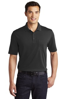 Port Authority® Dry Zone® UV Micro-Mesh Pocket Polo.-