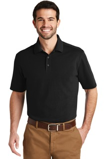 Port Authority SuperPro Knit Polo.-Port Authority