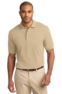 Port Authority® Heavyweight Cotton Pique Polo.