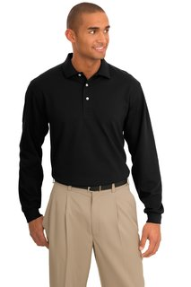 Port Authority Rapid Dry Long Sleeve Polo.-