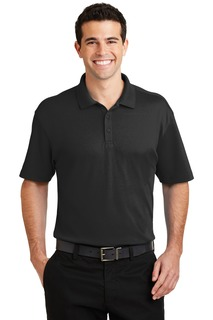 Port Authority® Silk Touch Interlock Performance Polo.-Port Authority
