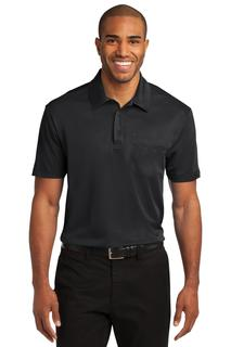 Port Authority® Silk Touch Performance Pocket Polo.-