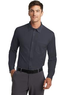 Port Authority® Dimension Knit Dress Shirt.-Port Authority