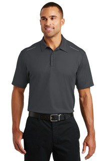 Port Authority® Pinpoint Mesh Polo.-Port Authority