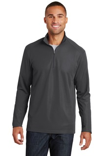 Port Authority® Pinpoint Mesh 1/2-Zip.-Port Authority