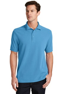 Port & Company® Ring Spun Pique Polo.-Port & Company