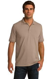 Short Sleeve Blend Jersey Knit Polo-