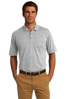Port & Company® Core Blend Jersey Knit Pocket Polo.-Port & Company