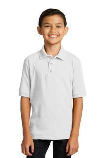 Port & Company Youth Core Blend Jersey Knit Polo.-Port & Company