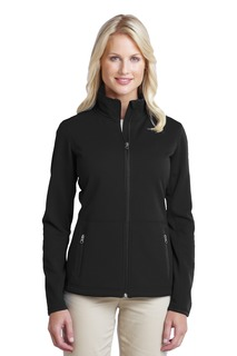 Port Authority® Ladies Pique Fleece Jacket.-