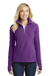 Port Authority® Ladies Microfleece 1/2-Zip Pullover.-