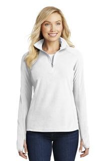 Port Authority Ladies Outerwear Sweatshirts & Fleece for Hospitality ® Ladies Microfleece 1/2-Zip Pullover.-Port Authority