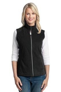 Port Authority Industrial Ladies Outerwear Sweatshirts&Fleece ® Ladies Microfleece Vest.-Port Authority