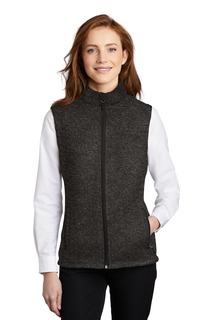 Port Authority ® Ladies Sweater Fleece Vest-Port Authority