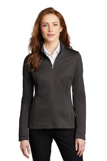 Port Authority Hospitality Outerwear Womens Port Authority ® Ladies Diamond Heather Fleece Full-Zip Jacket-Port Authority