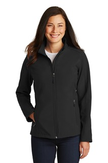 Port Authority Ladies Outerwear for Hospitality ® Ladies Core Soft Shell Jacket.-Port Authority