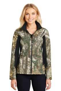 Port Authority® Ladies Camouflage Colorblock Soft Shell.