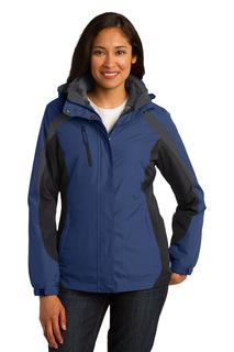 Port Authority® Ladies Colorblock 3-in-1 Jacket.-Port Authority
