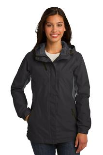 Port Authority® Ladies Cascade Waterproof Jacket.-Port Authority