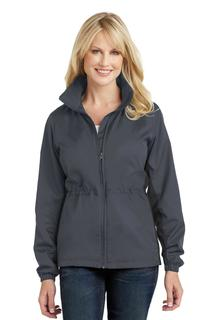 Port Authority® Ladies Core Colorblock Wind Jacket.-