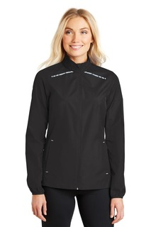 Port Authority® Ladies Zephyr Reflective Hit Full-Zip Jacket.-