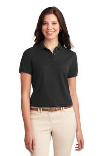 Port Authority® Ladies Silk Touch Polo.-Port Authority