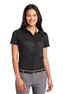 Port Authority® Ladies Short Sleeve Easy Care Shirt.-Port Authority
