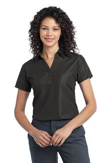 Port Authority® Ladies Vertical Pique Polo.