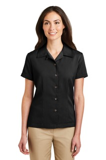 Port Authority® Ladies Easy Care Camp Shirt.-Port Authority
