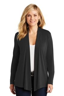 Port Authority® Ladies Concept Knit Cardigan.