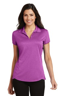 Port Authority® Ladies Trace Heather Polo.-